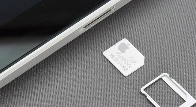 Apple SIM iPad