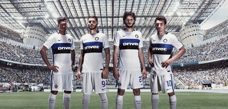 Inter seconda maglia 2015-2016