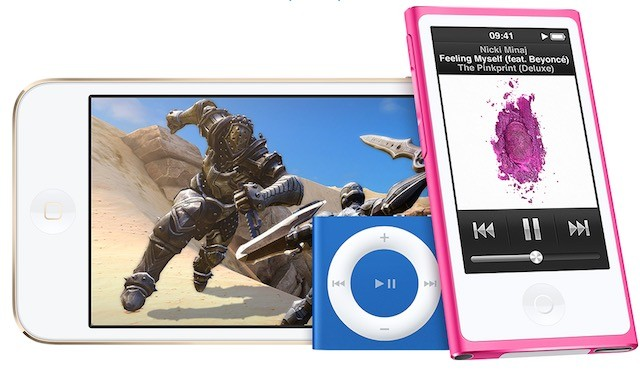 nuovi iPod colorati