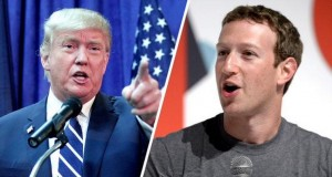 Trump e Zuckerberg