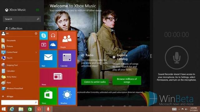 Windows RT Start