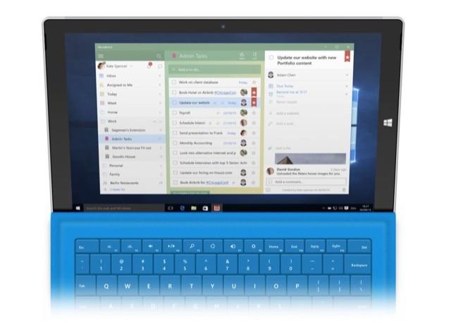Wunderlist Windows 10