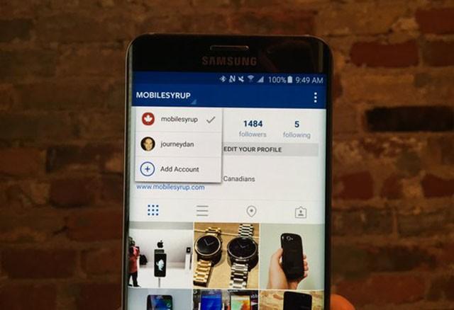 Instagram multi-utenza