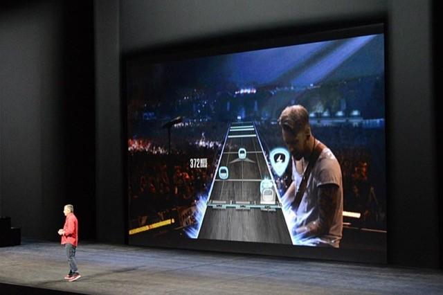 guitar hero apple tv