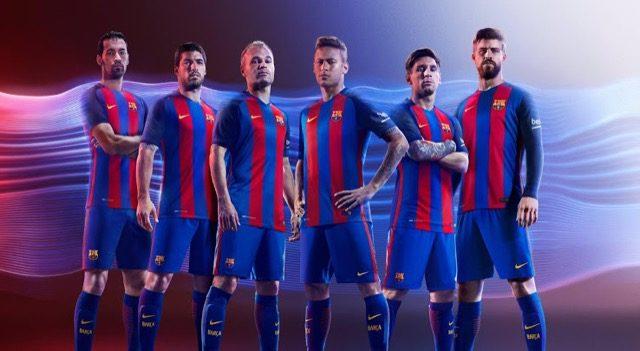 Barcelona New Kit 2016/17